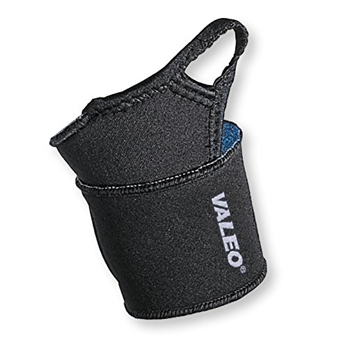 Valeo Neoprene Wrist Wrap Support with Terry Lined Vented Neoprene, Hook and Loop Closure, Machine Washable, (Best Valeo Hand Wraps)
