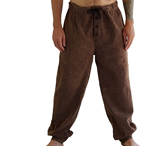 zootzu 'Corsair' Peasant Pants - Stone -