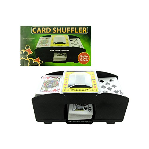 Kole Imports OC576 Battery Operated Playing Card Shuffler by Kole Imports