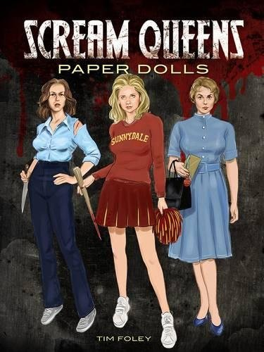 Scream Queens Paper Dolls (Dover Celebrity Paper Dolls)