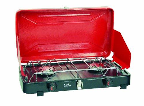 Texsport Compact Dual Burner Propane Stove, Outdoor Stuffs