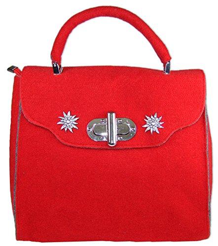 Post-scriptum   Schuhmacher, sac à bandoulière pour femme rouge / gris