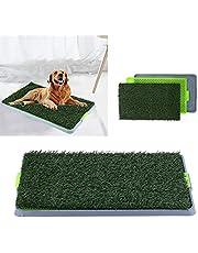 Huisdier Zindelijkheidstraining Pad, Puppy Lade Gras Wc, 3 Lagen Hond Zindelijkheidstraining Pee Pad Mat Puppy Lade Gras Wc Simulatie Gazon Huisdier Supply