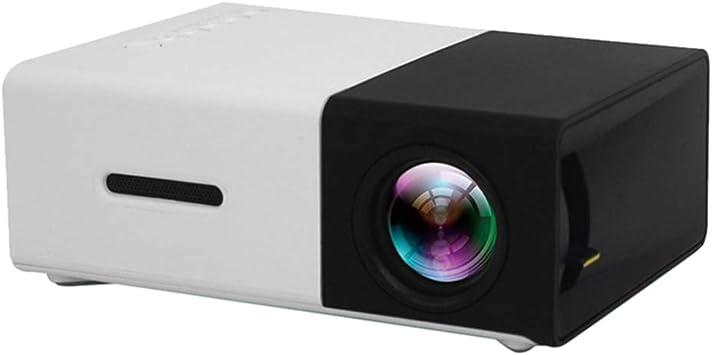 Zhhlaixing Mini Proyector Portátil Pico Resolución Full HD 1080P ...