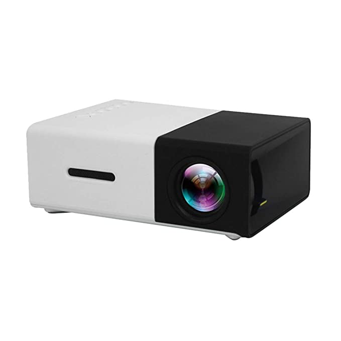 Zhhlaixing Mini Proyector Portátil Pico Resolución Full HD 1080P ...