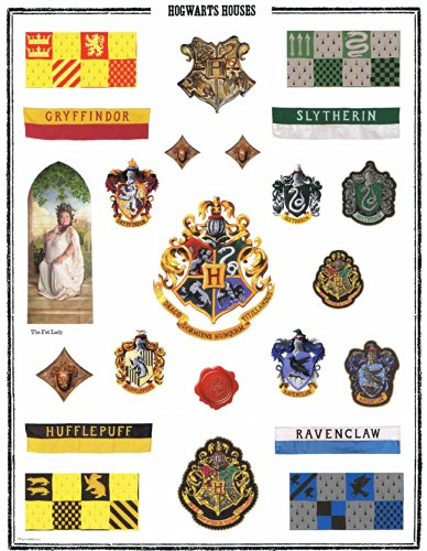 [Harry Potter Full Sheet Stickers