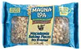 Mauna Loa Macadamia Dry Roasted Baking Pieces, 6-Ounce bag (Pack of 2)