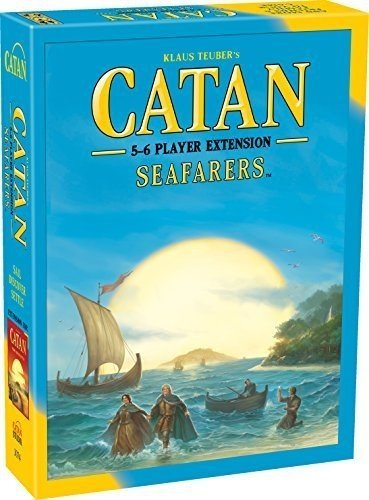 Catan Seafarers 5&6 Player Board Game Extension 5th (6 Player Expansion Board Game)
