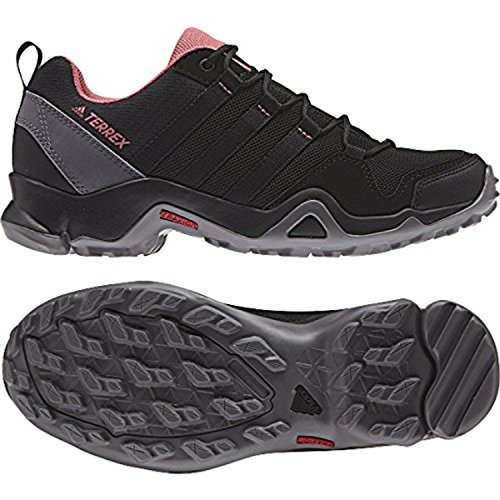 adidas Women's Terrex AX2R Shoes Black/Black/Tactile Pink 6.5 & Towel amazing price sale online JOQku4Z6K2