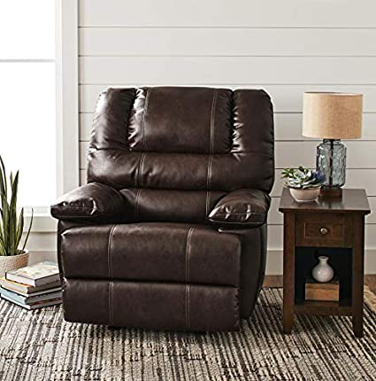 Amazon.com: Large Rocker Recliner Overstuffed Rocking Chair ...
