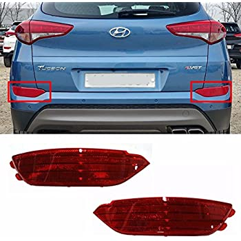 HYUNDAI Rear Bumper Reflex Reflector Set LH RH for 2007-2009 Santa Fe OEM Parts