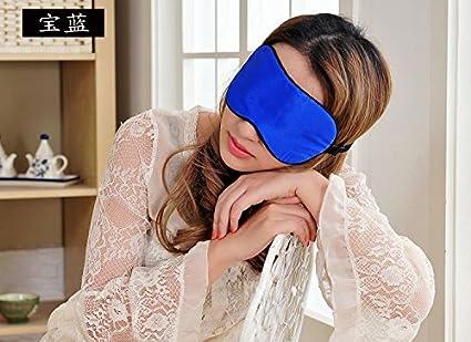 Dormir máscaras, seda natural, ultra ligero, suave, cómodo antifaz para dormir,