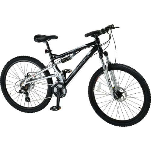 K2 Base Sport Full Suspension Mountain Bike Blacksilvermedium