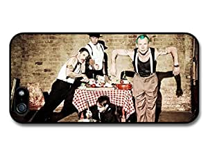 AMAF ? Accessories Red Hot Chili Peppers Rock Band RHCP Cooking case for iPhone 5 5S