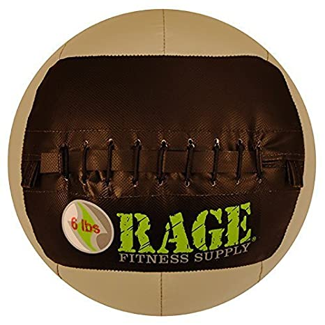 Rage Fitness balón medicinal - 6 Lb by Gibson Athletic: Amazon.es ...