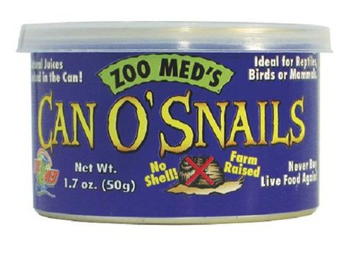 Zoo Med Can O' Snails Turtle Food, 1.7-Ounce ZM49