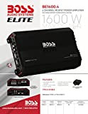 BOSS Audio Systems Elite BE1600.4 4 Channel Car