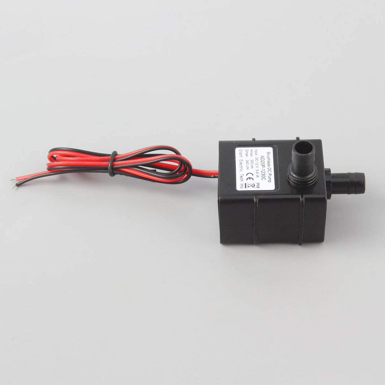 DC 12V Tauch Wasserpumpe 5M Hydraulikkopf Brushless Low Noise 40 ℃ 100 ℃ JT-1000B-12