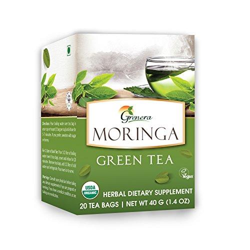 Organic Grenera Moringa Green Tea