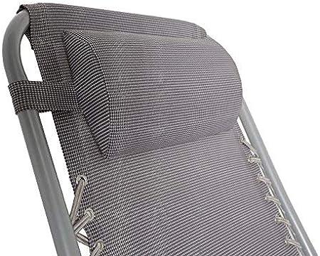 Textilene 2x2 - Portata Massima 120 kg 25mm XONE Poltrona Sdraio reclinabile Pieghevole Paradise con Tubolare Rinforzato