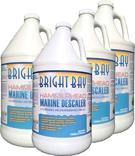Hammerhead M2128CS, Marine Descaler, Gallon Bottle 4/Case