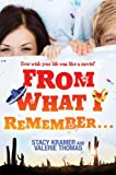 From What I Remember..., Valerie Thomas, 1423157508