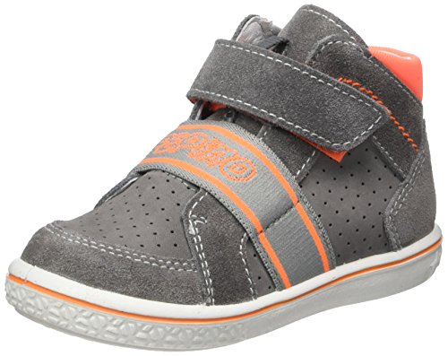 Ricosta Unisex-Kinder Colin High-Top Grau (Graphit)