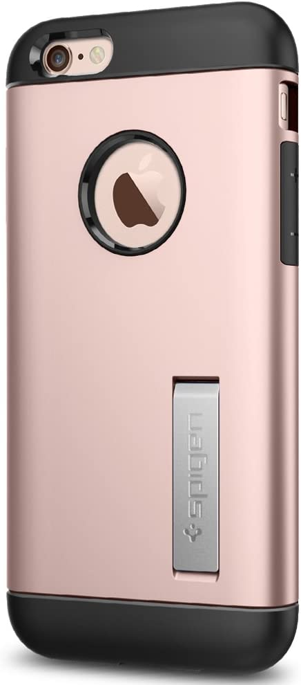 Spigen Slim Armor Designed for Apple iPhone 6S Case (2015) - Rose Gold