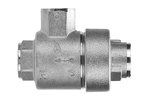 AIGNEP USA 82650-16 Quick Exhaust Valve, 1'' Female NPTF Thread (Nickel Plated Brass) by AIGNEP USA