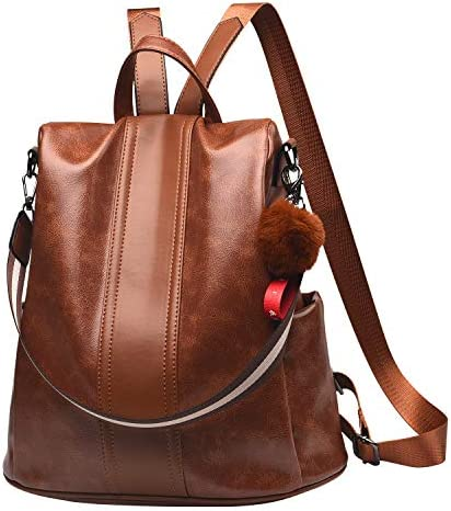 Backpack Leather Anti theft Satchel Shoulder product image