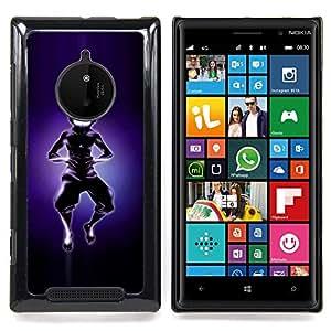 SKCASE Center / Funda Carcasa protectora - Aire Bender Silueta;;;;;;;; - Nokia Lumia 830