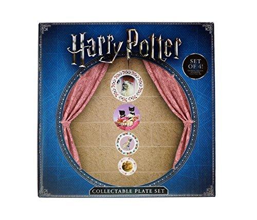 "Professor Umbridge ""Frolicsome Feline"" Collectable Plates (Set of 4) - Loot Crate Wizarding World Exclusive (May 2017)"