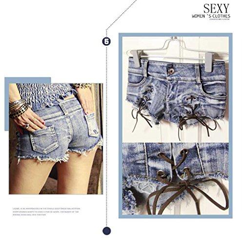 Della Fang size Calda Sexy Estate Vita Busine Donna Denim Del Bicchierini Di Pantaloncini L Dei Shorts Bassa Qi ZYnd6waY