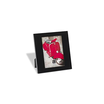 Amazon.com: Umbra Simple Picture Frame, 5-by-7-Inch, Glossy Black ...