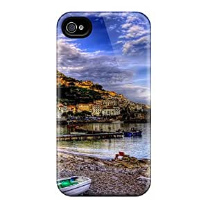 Cute High Quality Iphone 4/4s Fantastic Riomaggiore Italy Hdr Case