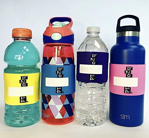 超話題新作 h2o ID h2o 4バンドマルチカラーパック再利用可能なIDバンドパーソナライズ&ラベル子供&大人用Drinksサーモスストロー;水ボトル、再利用可能なボトル&カップ、カップ、トレーナーカップ、ベビーボトル、ソロカップ、ビール、Cocktails B07CZTMKXB, 【激安】アウトレットトラベラー:e73bd1bf --- beyonddefeat.com