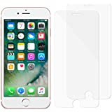 "iPhone 8, 7, 6S, 6 Screen Protector Glass, Eglass Tempered Glass Screen Protector for Apple iPhone 8, 7, iPhone 6S, iPhone 6 [4.7""inch] 2018 2017 2016, 2015 (2-Pack)"