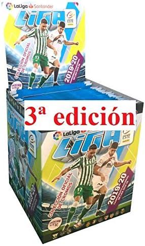 ¡¡¡ 3 edición !!! 1 Caja con 50 Sobres Liga Este 2019 2020 Panini