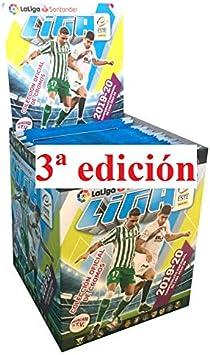 ¡¡¡ 3 edición!!! 1 Caja con 50 Sobres Liga Este 2019 2020 Panini ...