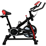 Multi-Function Indoor Exercise Bike, Comfortable Cushion, Adjustable Friction Resistance, Ultra-Quiet Rotating Bicycle, Safe Comfortable, With Lcd Display