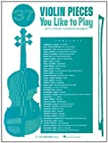 Thirty-Seven Violin Pieces You Like to Play, , 0793538513
