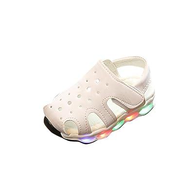 Huhua Sandals for Boys, Sandali Bambini, Rosa (Pink), 12-18 Months