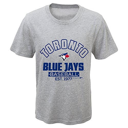 MLB Toronto Blue Jays Youth Boys 8-20 Crack of Bat Combo Pack-XL (18), Heather (Toronto Blue Jays Pieces)