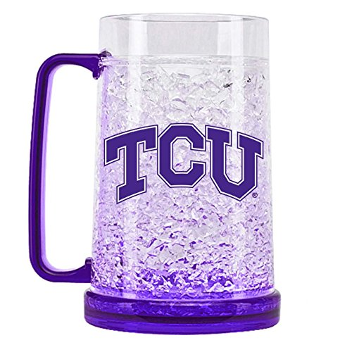 - NCAA Texas Christian Horned Frogs 16oz Crystal Freezer Mug