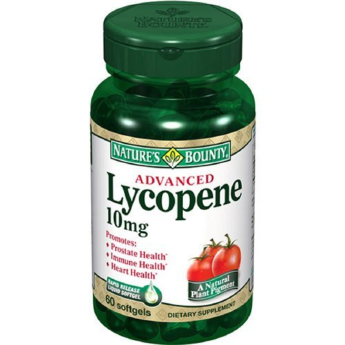 Bounty lycopène de la nature, 10 mg, gélules 60 ch