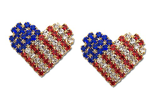 Sassy Clips Love the USA Crystal Rhinestones by Unknown (Image #5)
