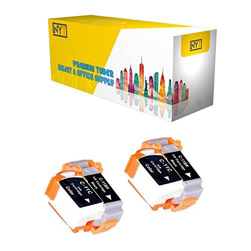 New York Toner New Compatible 4 Pack 2 BCI-11BK Black 2 BCI-11C Color High Yield Inkjet For - BJCAN-70 . -- Black Color ()