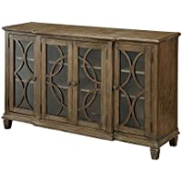 Furniture of America Elliot Buffet in Brown