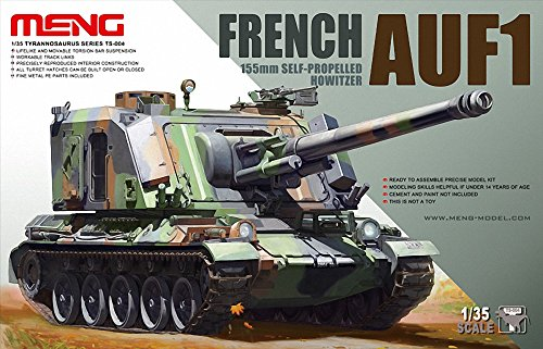 Meng Models French AUF1 115mm Self-Propelled Howitzer, 1/35 - Ship And Shop Saudi