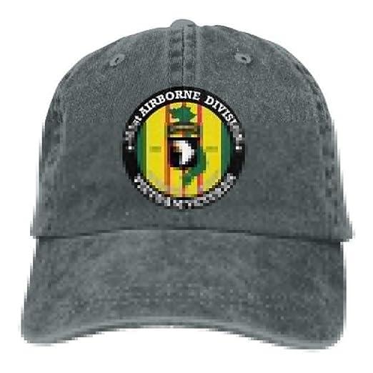 101st Airborne Division Vietnam Veteran Dad Hat Adjustable Denim Hat  Classic Baseball Cap at Amazon Men s Clothing store  58acbf90e9b6
